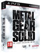 Portada oficial de Metal Gear Solid: The Legacy Collection para PS3