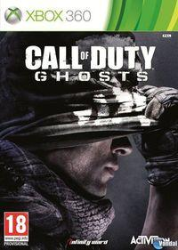 Portada oficial de Call of Duty: Ghosts para Xbox 360