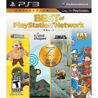 Portada oficial de The Best Of PlayStation Network Vol. 1 para PS3
