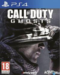 Portada oficial de Call of Duty: Ghosts para PS4