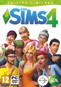 Portada oficial de Los Sims 4 para PC