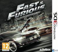 Portada oficial de Fast & Furious: Showdown para Nintendo 3DS