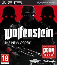 Portada oficial de Wolfenstein: The New Order para PS3