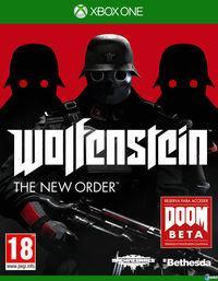 Portada oficial de Wolfenstein: The New Order para Xbox One
