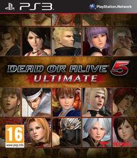 Portada oficial de Dead or Alive 5 Ultimate para PS3