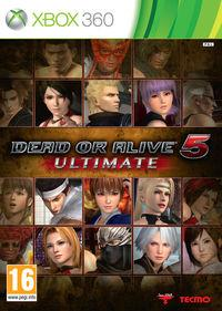 Portada oficial de Dead or Alive 5 Ultimate para Xbox 360
