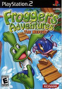 Portada oficial de Frogger's Adventures: The Rescue para PS2