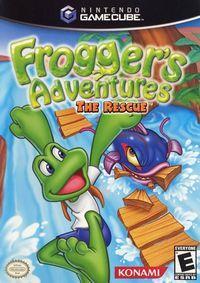 Portada oficial de Frogger's Adventures: The Rescue para GameCube