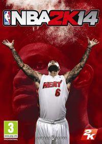 Portada oficial de NBA 2K14 para PS4