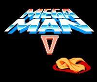 Portada oficial de Mega Man 5 CV para Wii U