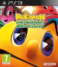 Portada oficial de Pac-Man y las Aventuras Fantasmales para PS3