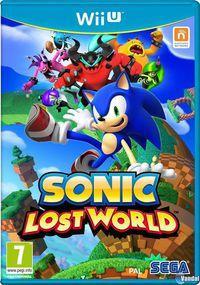 Portada oficial de Sonic Lost World para Wii U