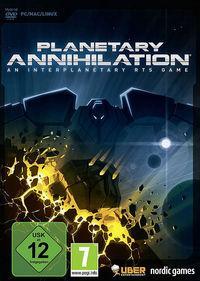 Portada oficial de Planetary Annihilation para PC