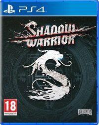 Portada oficial de Shadow Warrior para PS4