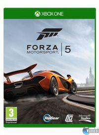Portada oficial de Forza Motorsport 5 para Xbox One