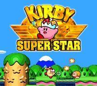 Portada oficial de Kirby Super Star CV para Wii U