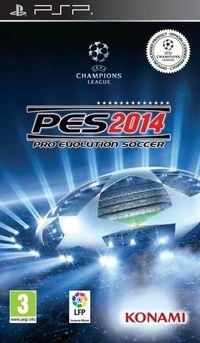 Portada oficial de Pro Evolution Soccer 2014 para PSP