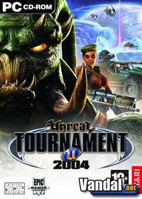 Portada oficial de Unreal Tournament 2004 para PC