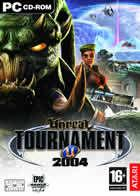 Portada oficial de Unreal Tournament 2004 para PC