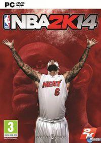 Portada oficial de NBA 2K14 para PC