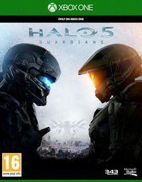 Portada oficial de Halo 5: Guardians para Xbox One