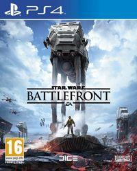 Portada oficial de Star Wars: Battlefront para PS4