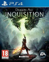Portada oficial de Dragon Age Inquisition para PS4