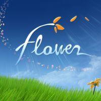 Portada oficial de Flower para PSVITA