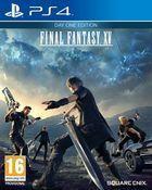 Portada oficial de Final Fantasy XV para PS4