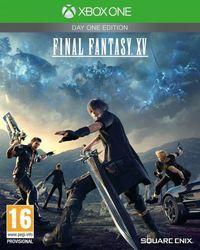 Portada oficial de Final Fantasy XV para Xbox One