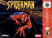 Portada oficial de Spider-Man (2000) para Nintendo 64