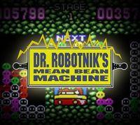 Portada oficial de Dr. Robotnik's Mean Bean Machine CV para Nintendo 3DS