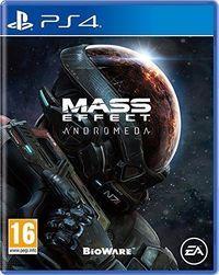 Portada oficial de Mass Effect: Andromeda para PS4