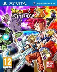Portada oficial de Dragon Ball Z: Battle of Z para PSVITA