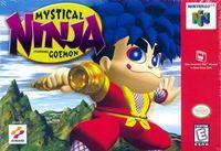 Portada oficial de Mystical Ninja Starring Goemon para Nintendo 64