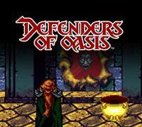 Portada oficial de Defenders of Oasis CV para Nintendo 3DS