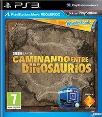 Portada oficial de Wonderbook: Caminando entre dinosaurios para PS3
