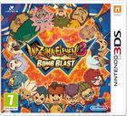 Portada oficial de Inazuma Eleven 3: Rayo celeste y Fuego explosivo para Nintendo 3DS