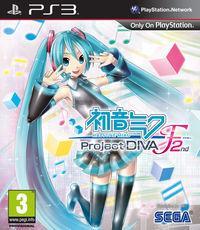 Portada oficial de Hatsune Miku Project Diva F 2nd para PS3