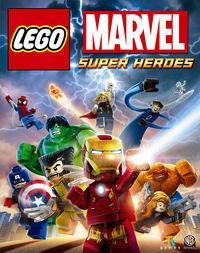 Portada oficial de LEGO Marvel Super Heroes para PS4