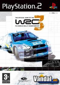 Portada oficial de WRC 3 para PS2