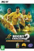 Portada oficial de Rugby Challenge 2 para PC