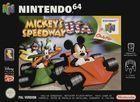 Portada oficial de Mickey's Speedway USA para Nintendo 64