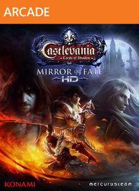 Portada oficial de Castlevania: Lords of Shadow - Mirror of Fate HD XBLA para Xbox 360