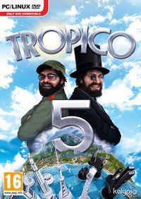 Portada oficial de Tropico 5 para PC