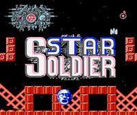 Portada oficial de Star Soldier CV para Nintendo 3DS