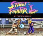 Portada oficial de Street Fighter II Turbo: Hyper Fighting CV para Wii U