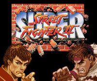 Portada oficial de Super Street Fighter II: The New Challengers CV para Wii U