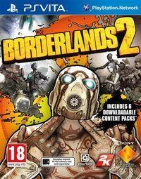 Portada oficial de Borderlands 2 para PSVITA