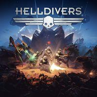 Portada oficial de Helldivers para PS4